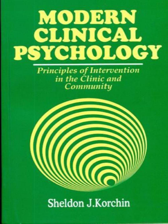 clinical psychologi