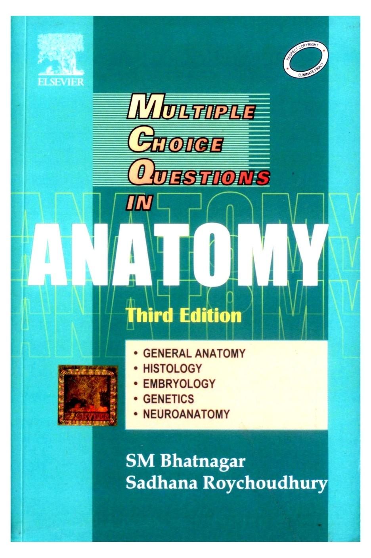 Schön Human Anatomy Multiple Choice Questions Zeitgenössisch ...