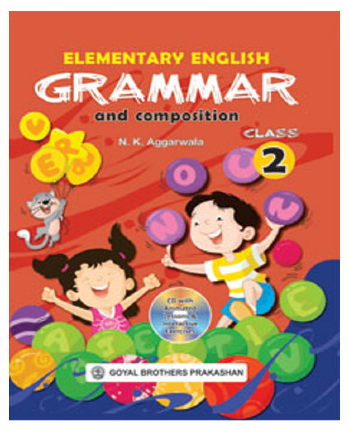 Elementary English Grammar and Composition Class 2 (With CD). Share