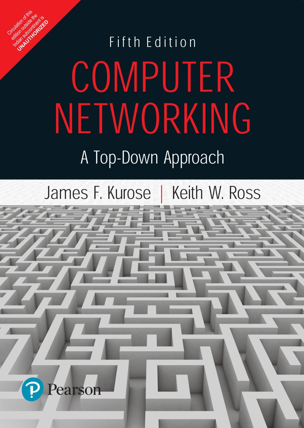 computer networking  a top-down approach 5th edition