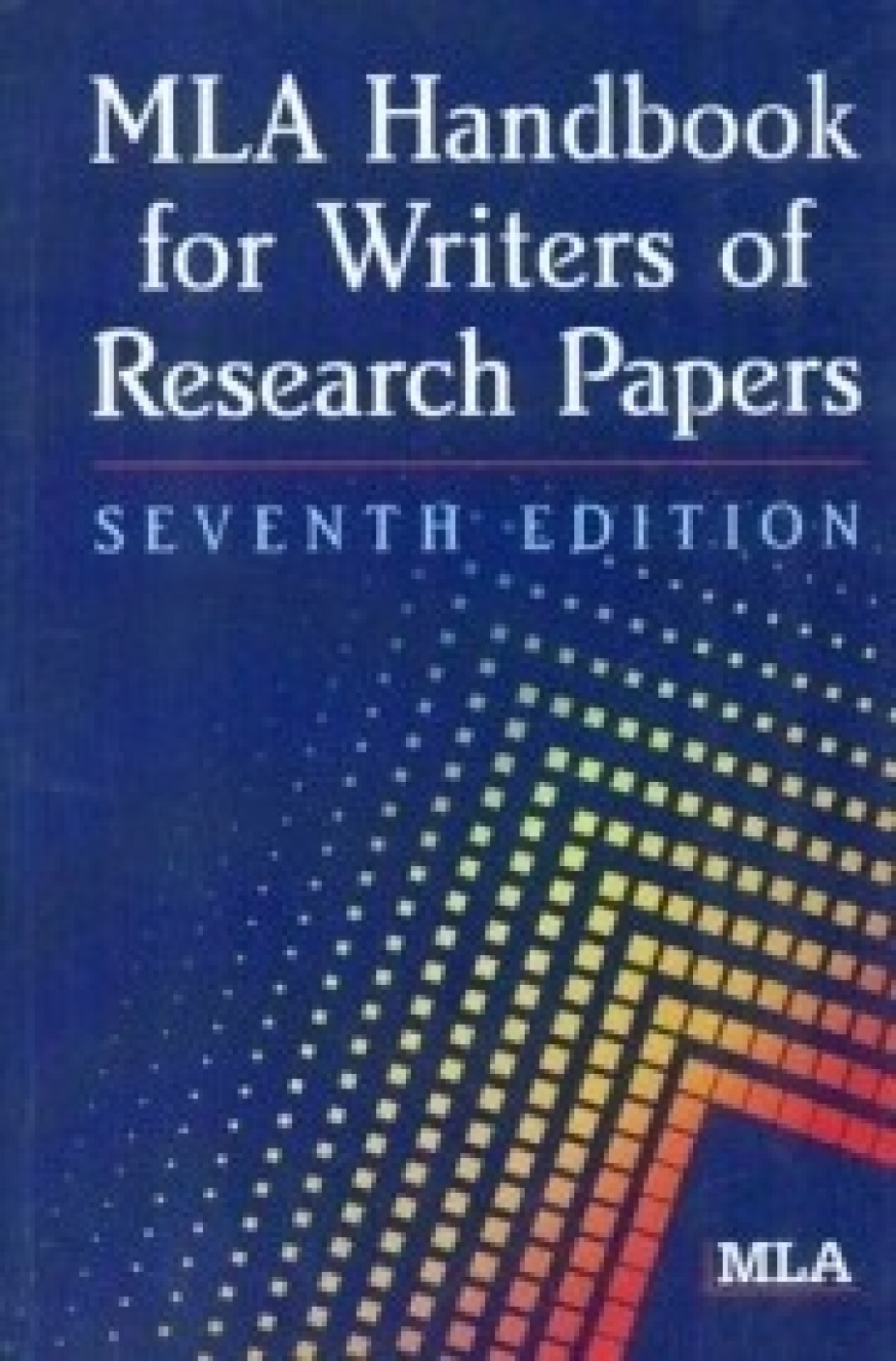 mla handbook for writers of research papers book Buy mla handbook for writers of research papers at walmartcom.
