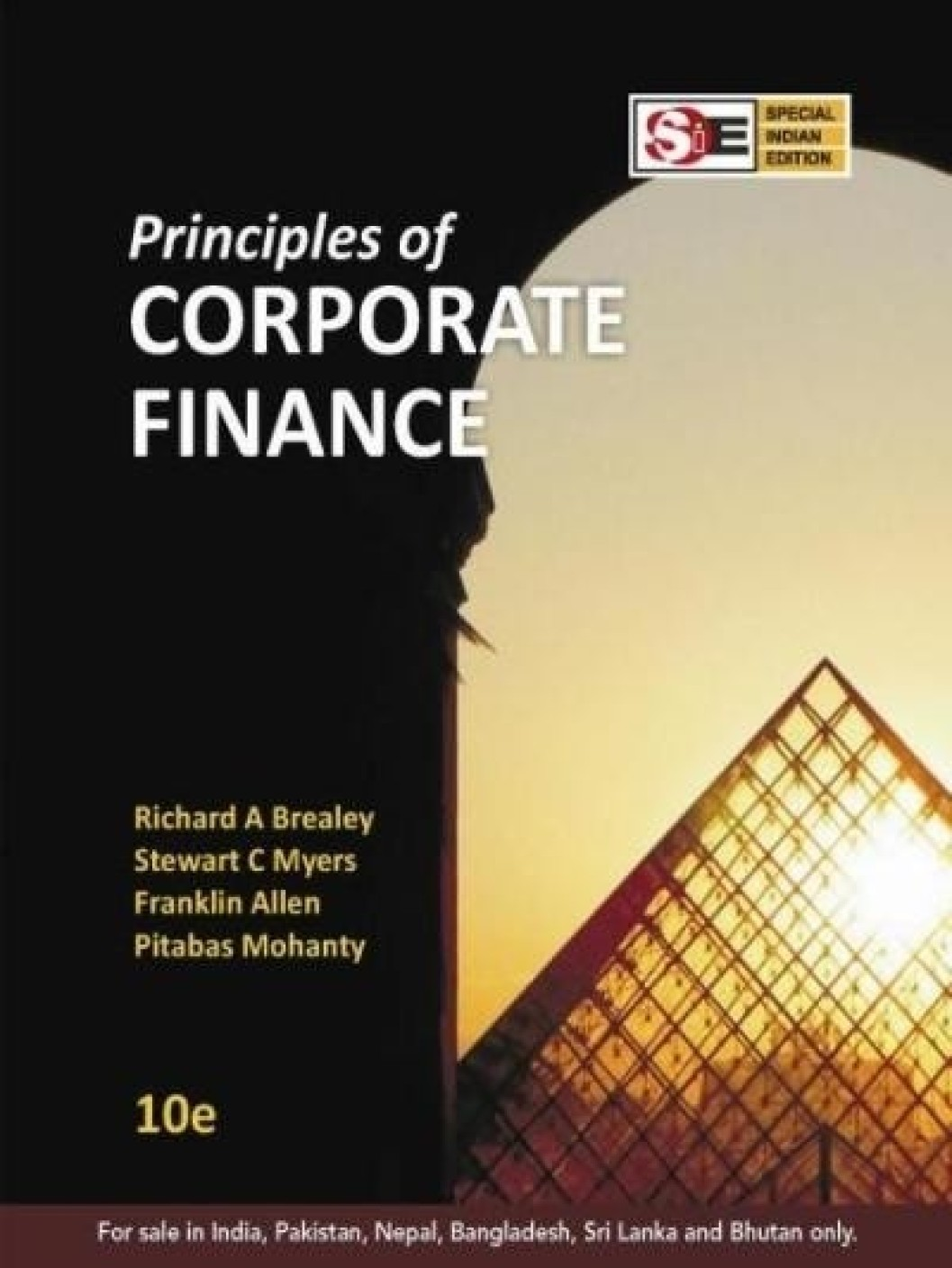 principles of corporate finance From the publisher brealey/myers' principles of corporate finance is the  worldwide leading text that describes the theory and practice of corporate finance .