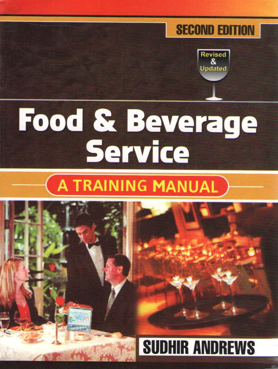 food and beverage service books