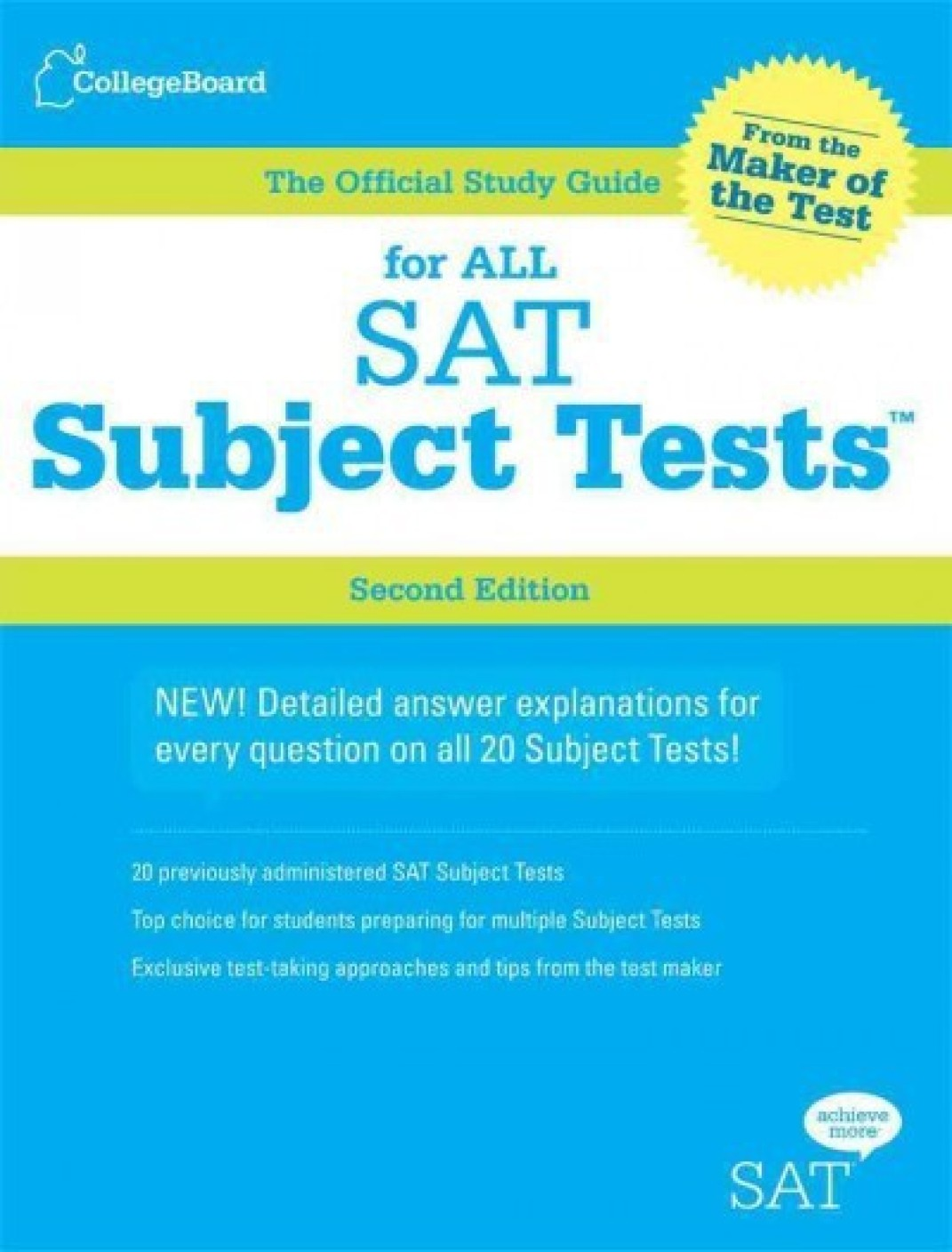 Best Sellers in SAT Subject Test Guides - amazon.com