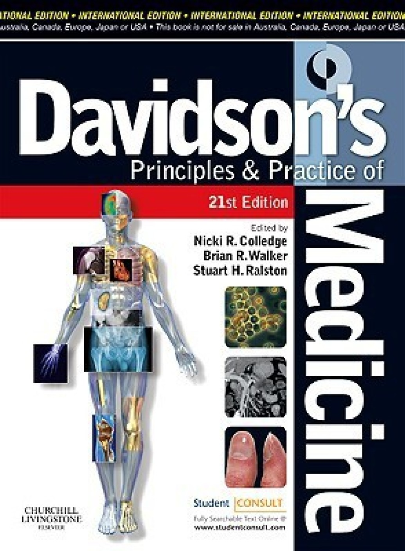 davidson's principles and practice of medicine pdf تحميل