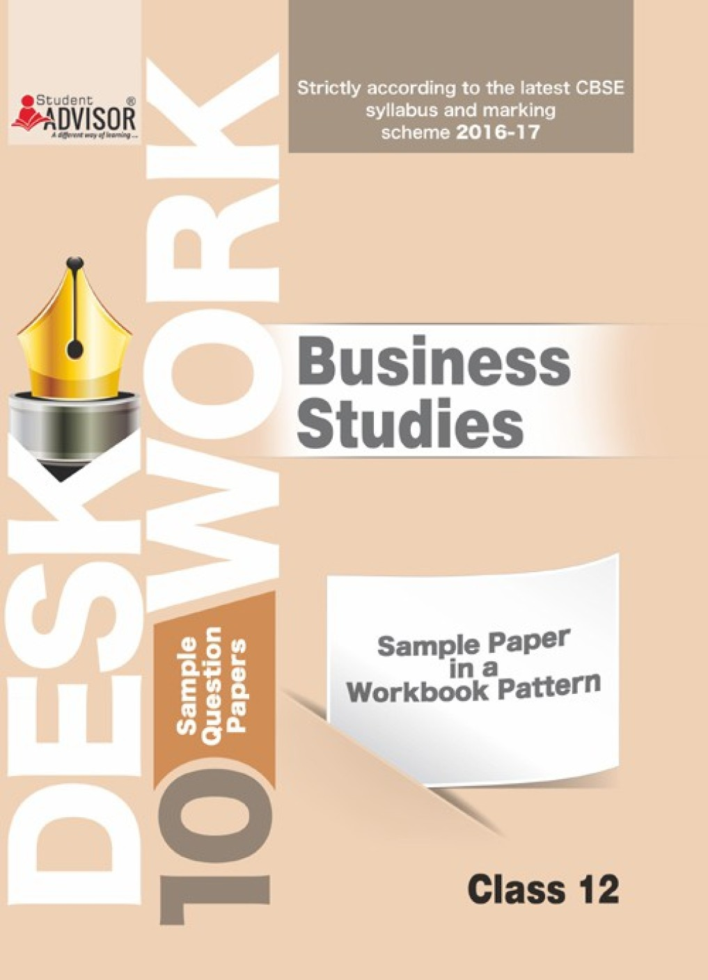 cbse desk work sample papers for class business study  add to cart