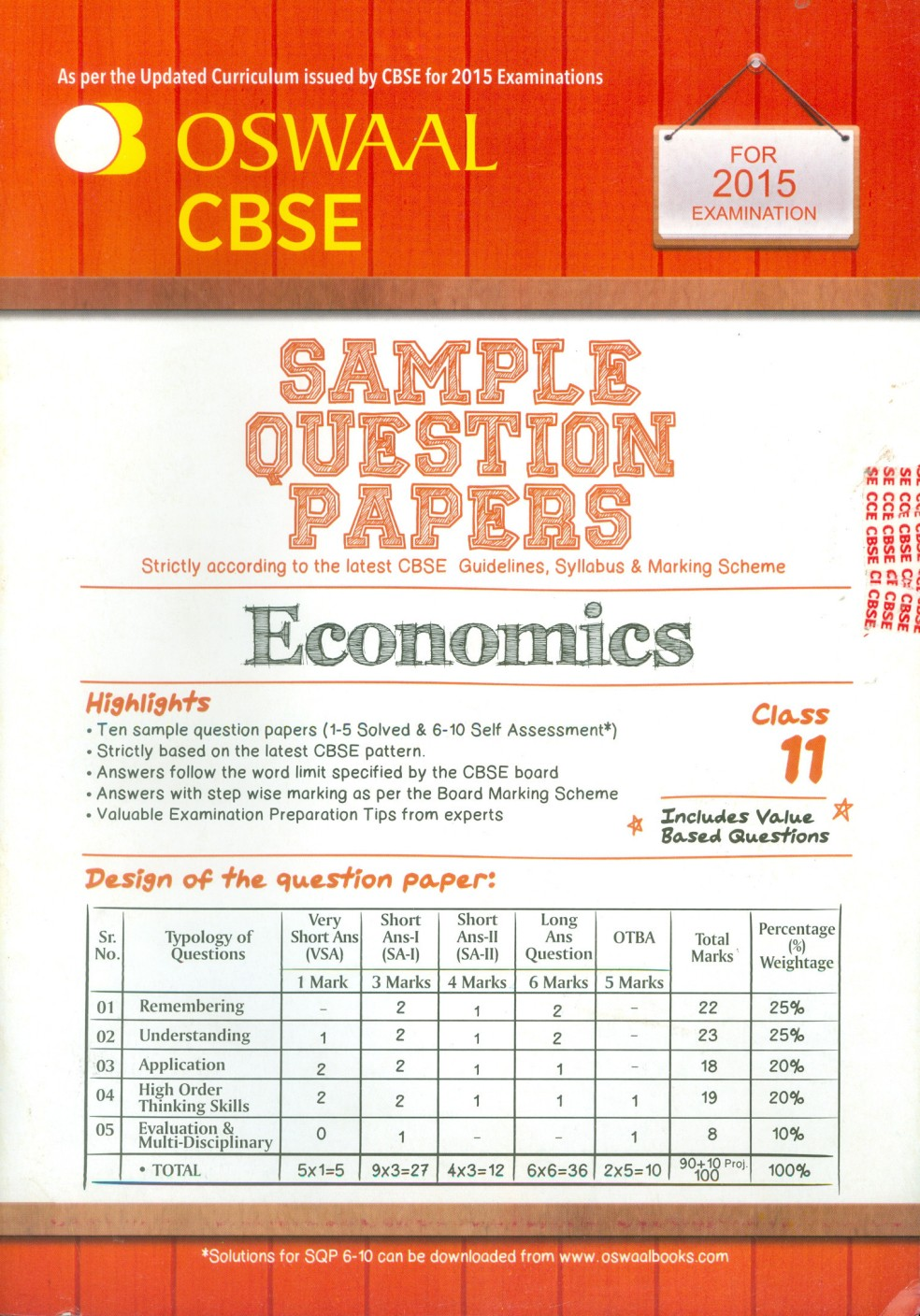 oswaal cbse sample question papers for class 11 economics buy oswaal cbse sample question papers for class 11 economics share facebook