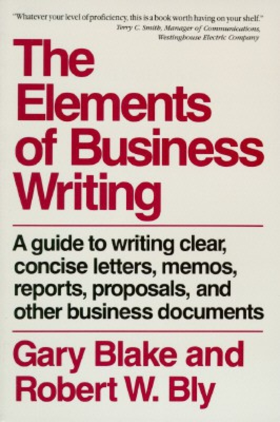The Elements Of Business Writing Buy The Elements Of Business