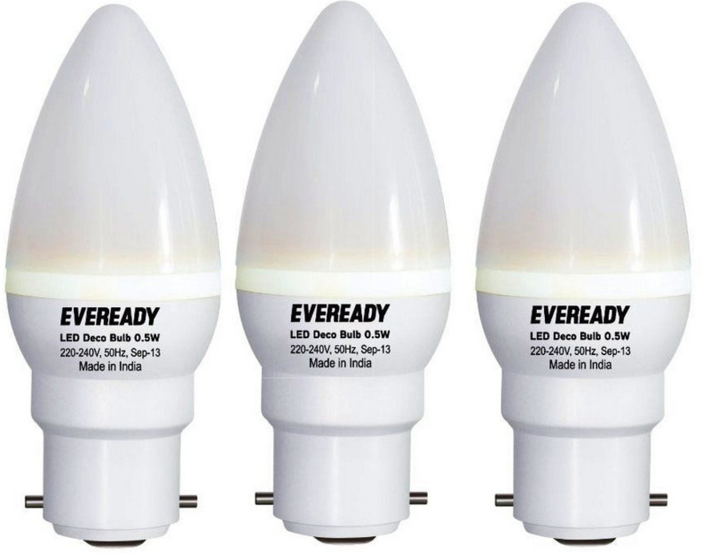 Eveready 0 5 W B22 Led Bulb Price In India Buy Eveready
