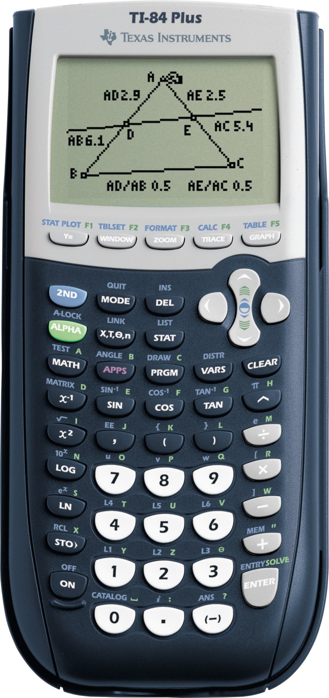 Texas Instruments Ti84 Graphical Calculator