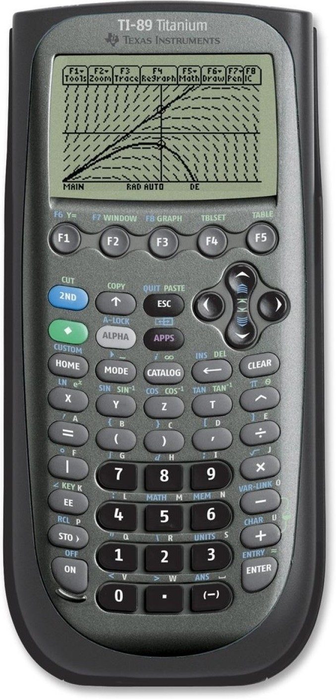 Texas Instruments Ti89 Titanium Graphical Calculator Add To Cart