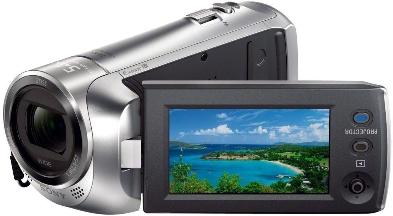 Sony Hd Video Camera With Projector Hdrpj410 Full Handycam Hdr Pj410 Gratis Microsd 8gb Case Mini Tripod Download