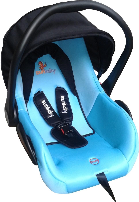 Sunbaby Rearward Facing Secure Carry Cot Cum Car Seat