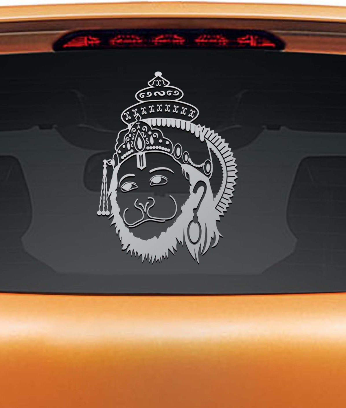 Car parking stickers design india - Wall Design Religious Sticker For Windows Add To Cart