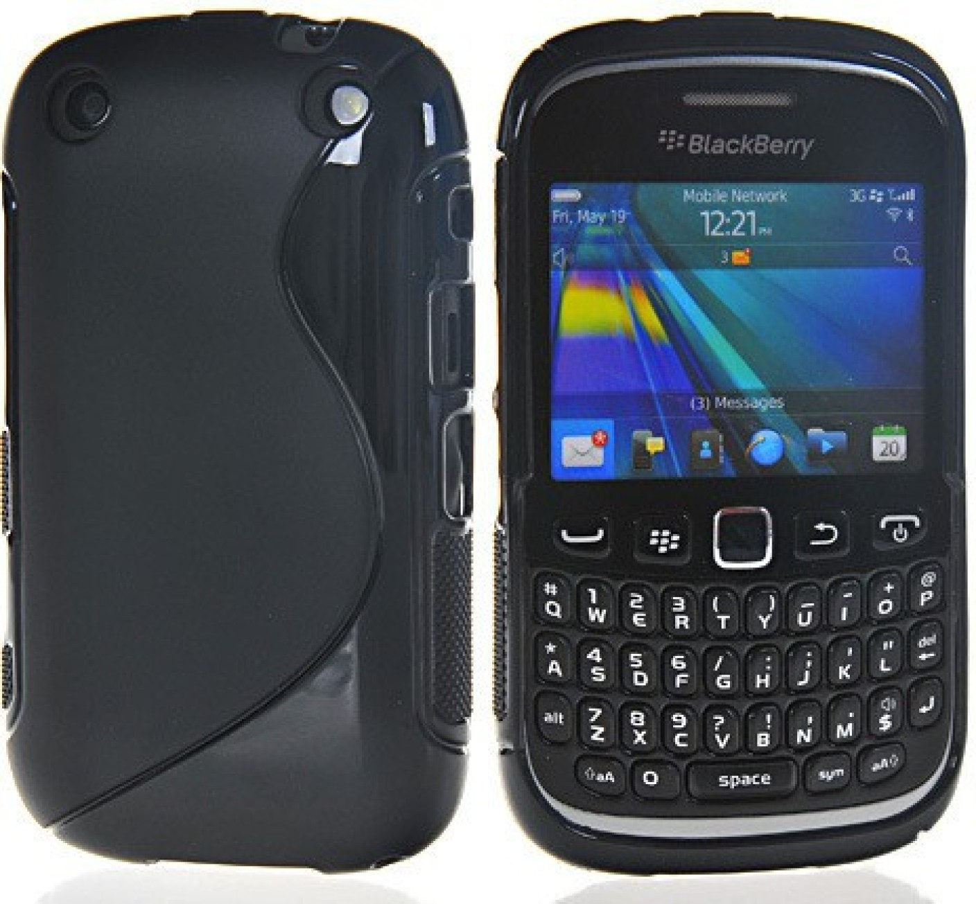 Icod9 Back Cover for Blackberry Curve 9220