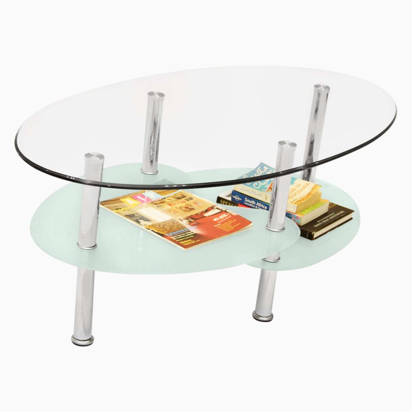 Spiral Glass Coffee Table Godrej Interio Glow In India