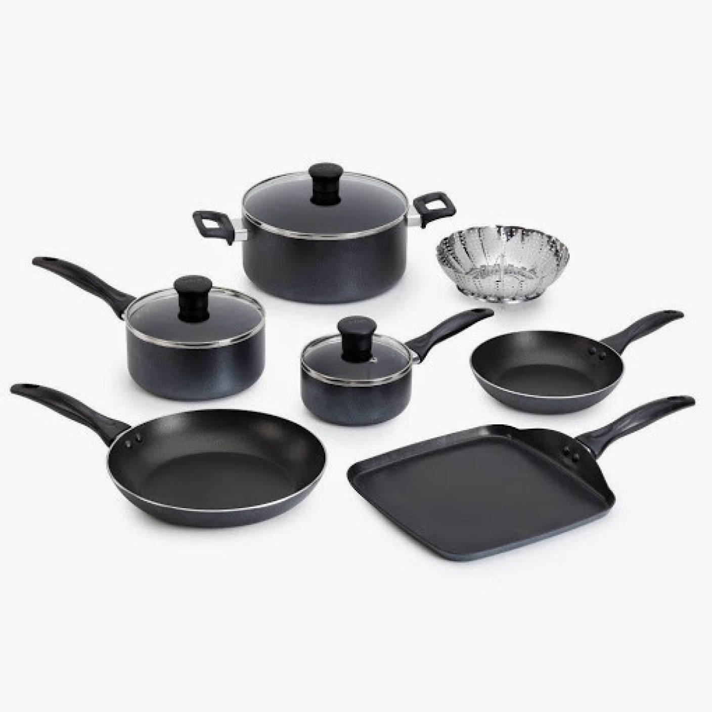 tefal delight cookware set price in india buy tefal delight cookware set online at. Black Bedroom Furniture Sets. Home Design Ideas