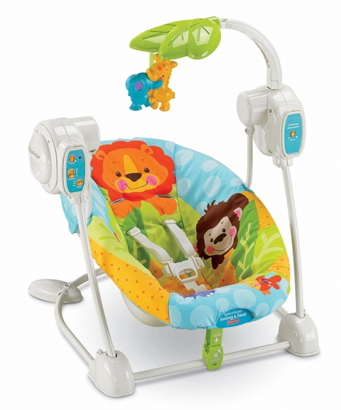 Fisher-Price SpaceSaver Swing & Seat - SpaceSaver Swing & Seat . Buy SpaceSaver Swing & Seat ...
