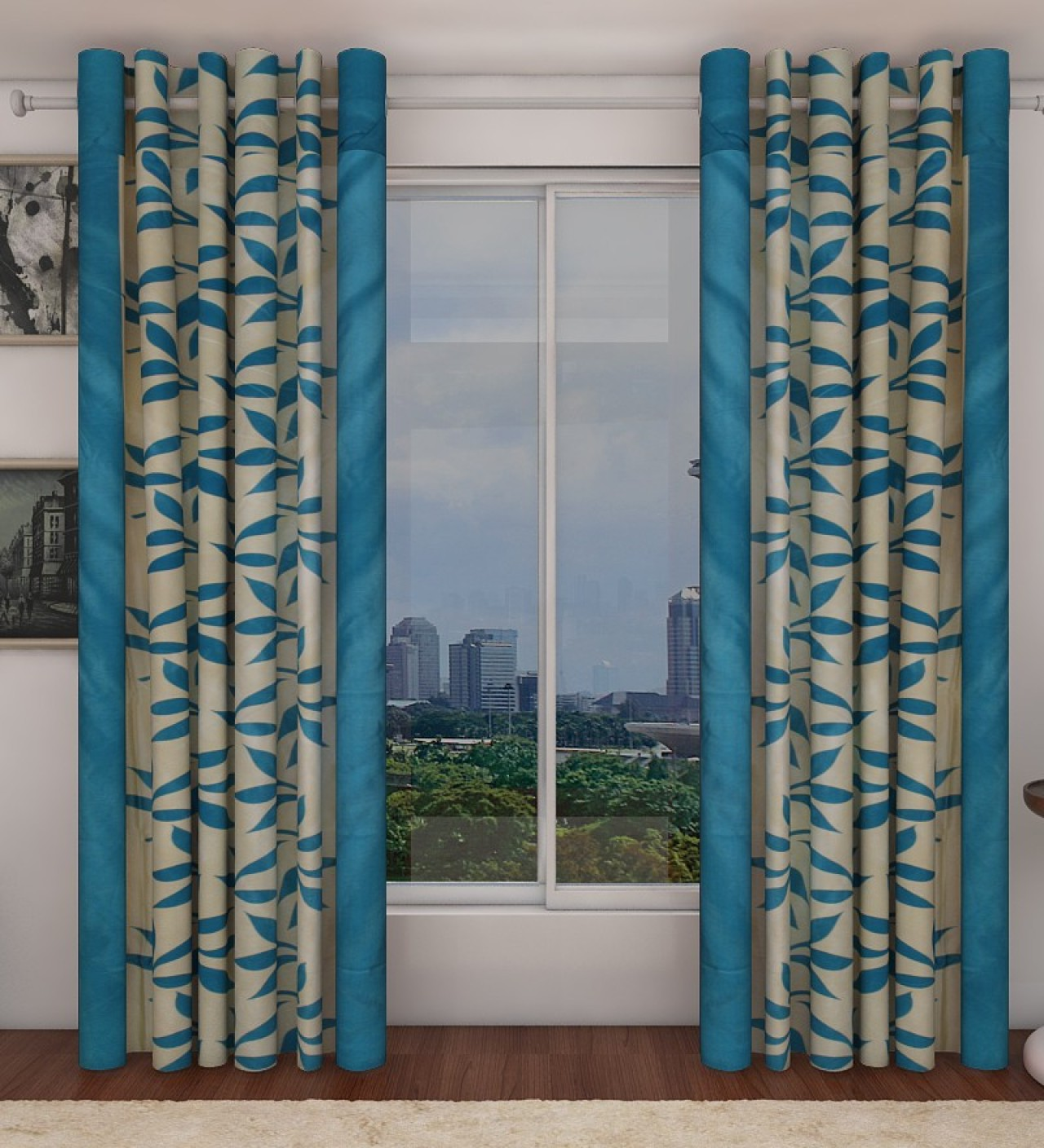 home candy polyester window curtain 212 cm 6 ft pack of 2 buy home candy polyester window. Black Bedroom Furniture Sets. Home Design Ideas