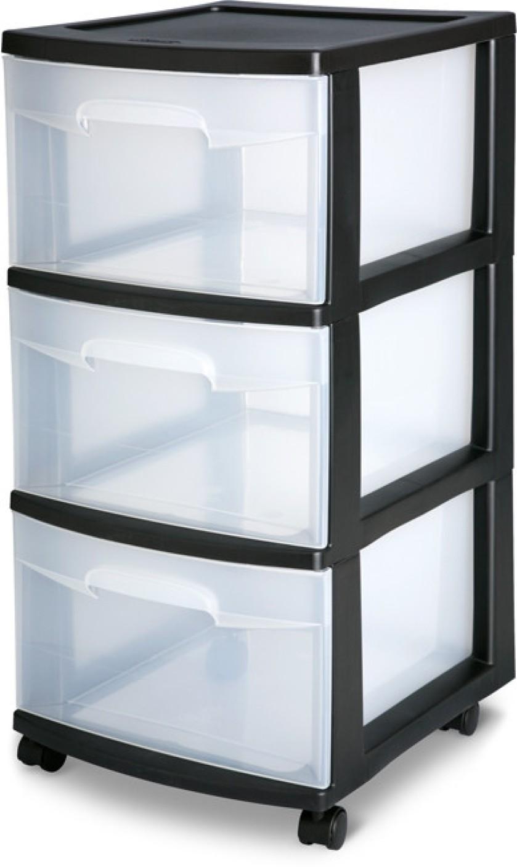 Flipkart Com Sterilite Wheeled 3 Compartments Plastic