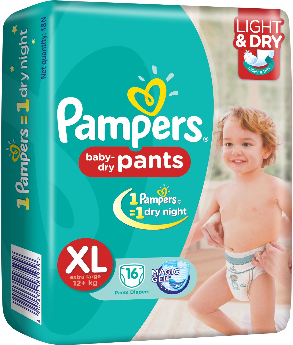 Pampers Pants Diaper Extra Large Size Buy 16 Pampers