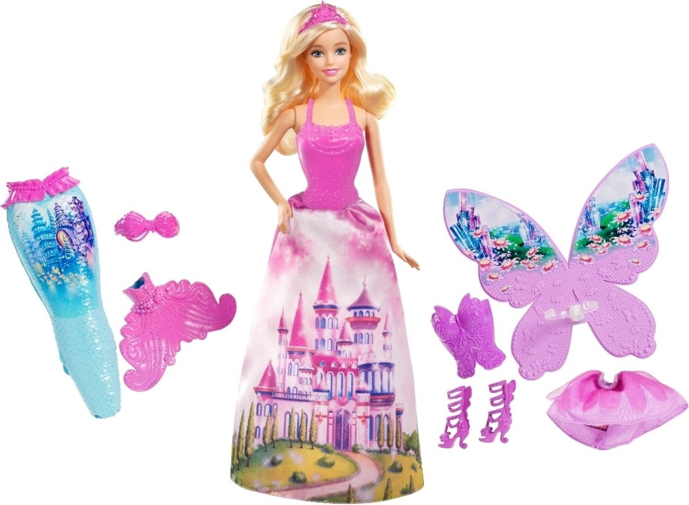 Barbie In A Mermaid Tale Dress Up 2 - Barbie