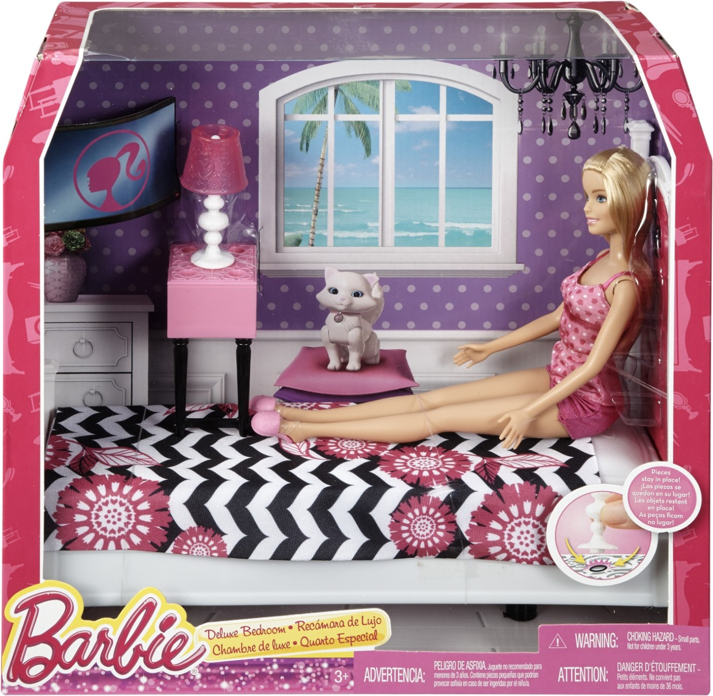 Barbie Deluxe Bedroom. Share