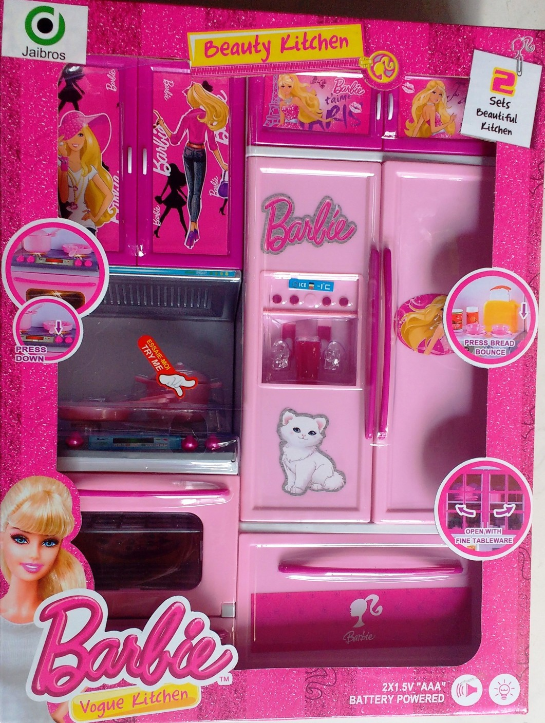 Barbie beauty vogue kitchen set for kids beauty vogue for Kitchen set from the 90 s