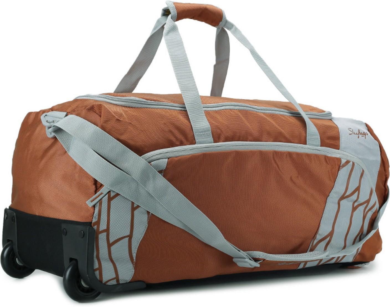 Skybags Sparks Ii 24 Inch 62 Cm Duffel Strolley Bag Rust