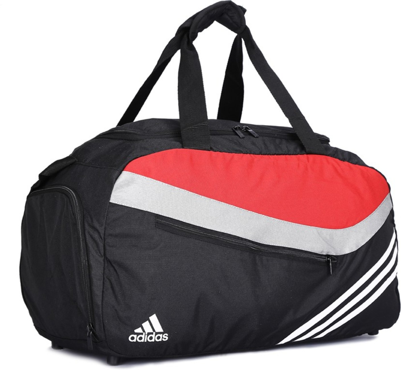 Gym Bag Flipkart: Adidas Travel Duffel Bag Black - Price In India