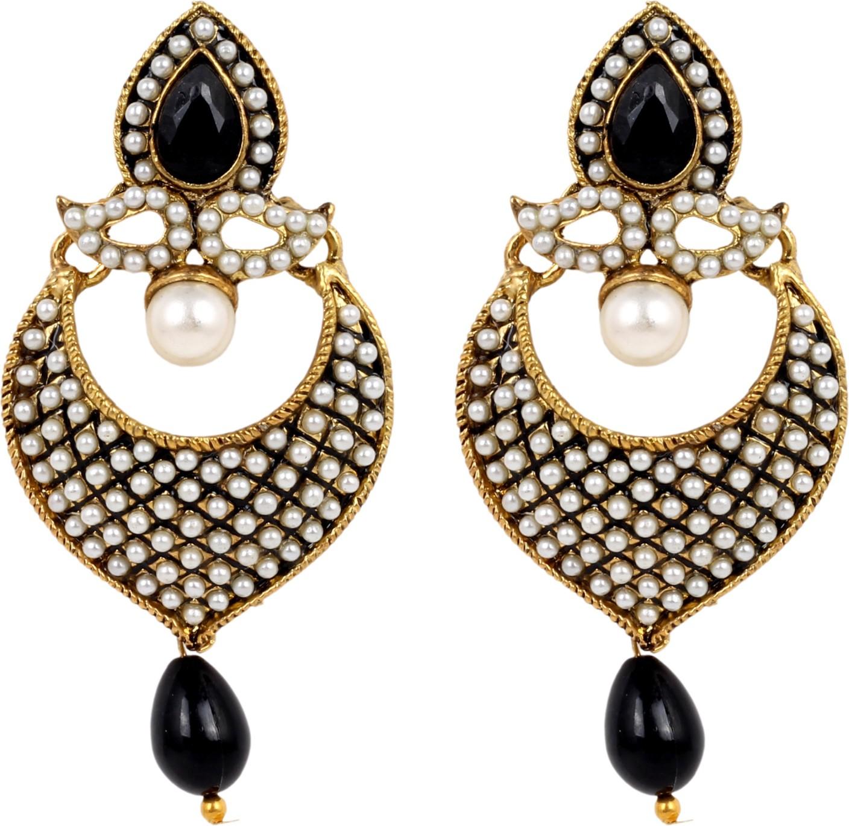 Flipkart Com Buy Sp Jewellery Alloy Chandelier Earring