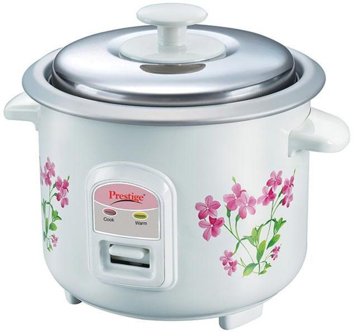 Prestige PRWO 0.6-2 Electric Rice Cooker with Steaming Feature ...