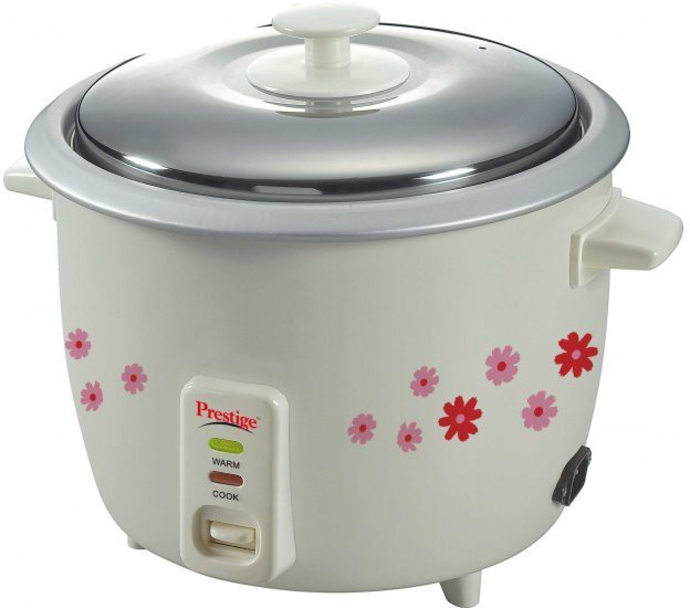 Prestige PRWO 1.8-2 Electric Rice Cooker with Steaming Feature ...