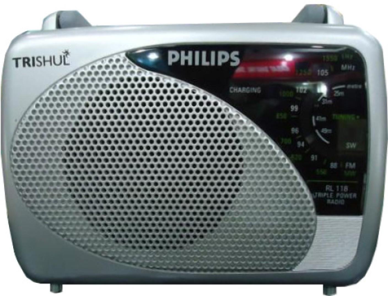 philips in rl118 00 fm radio philips. Black Bedroom Furniture Sets. Home Design Ideas