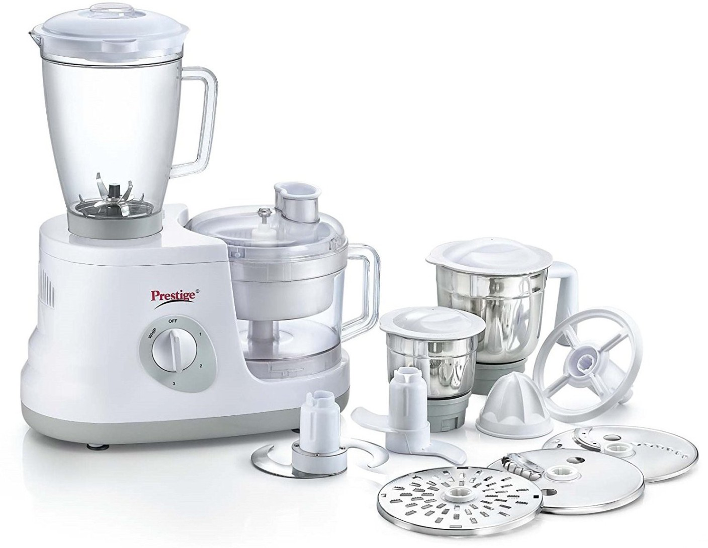 Prestige all round 600 w food processor price in india for Cuisine prestige