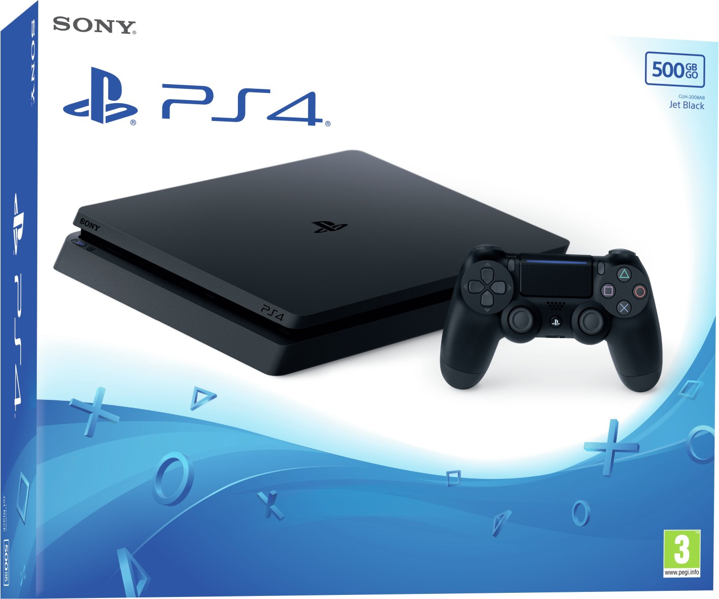 sony playstation 4 ps4 slim 500 gb price in india buy sony playstation 4 ps4 slim 500 gb. Black Bedroom Furniture Sets. Home Design Ideas