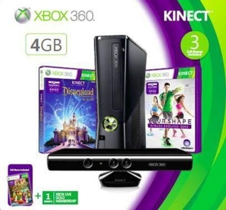 Microsoft X-Box 360 4 GB Kinect Holiday Bundle Price in India - Buy Microsoft X-Box 360 4 GB ...