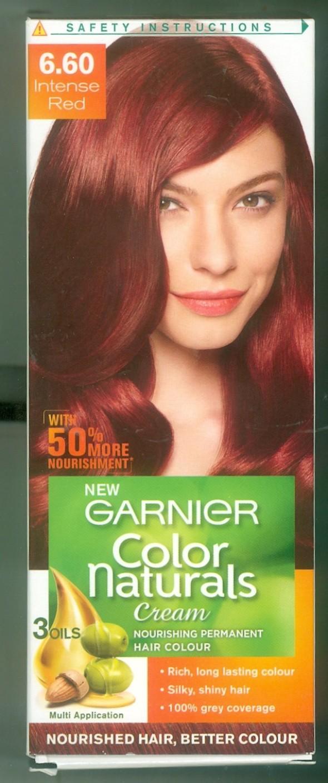 Garnier Garnier Color Naturals Cream 660 Intense Red Hair Color