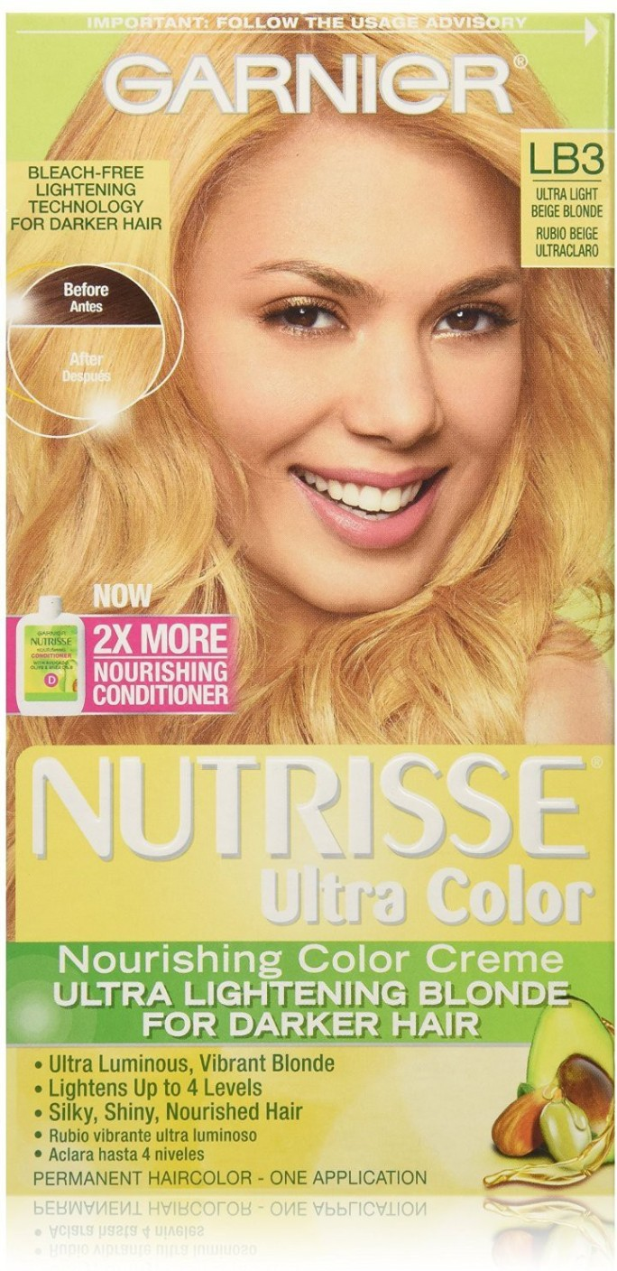 Garnier Ultra Lightening Blondes For Naturally Dark Hair Reviews