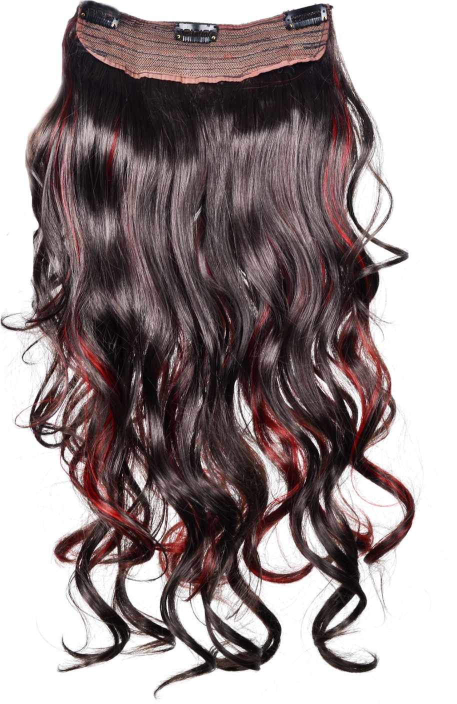 High quality synthetic hair extension red black price in india high quality synthetic hair extension red black share pmusecretfo Gallery