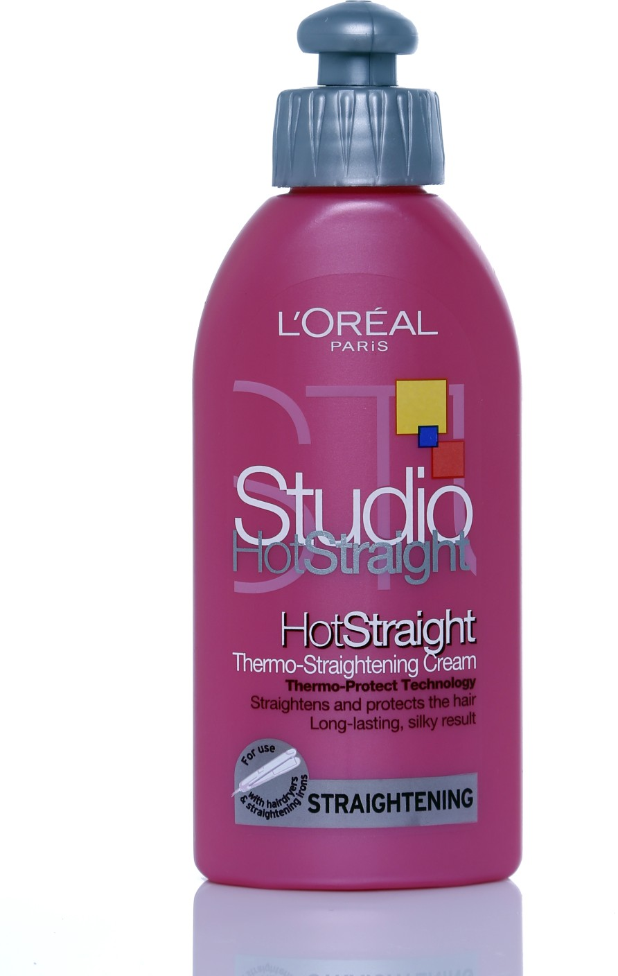 L 39 oreal paris thermo straightening cream hair styler for Loreal salon hair products