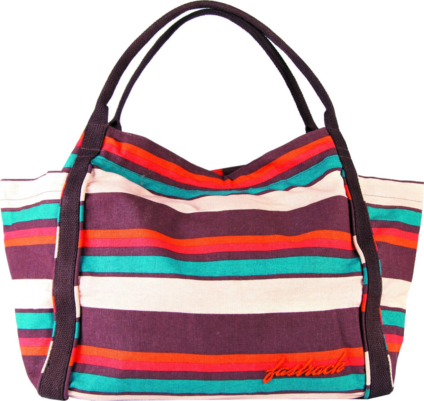 Buy Fastrack Tote Multicolor Striped Online @ Best Price ...