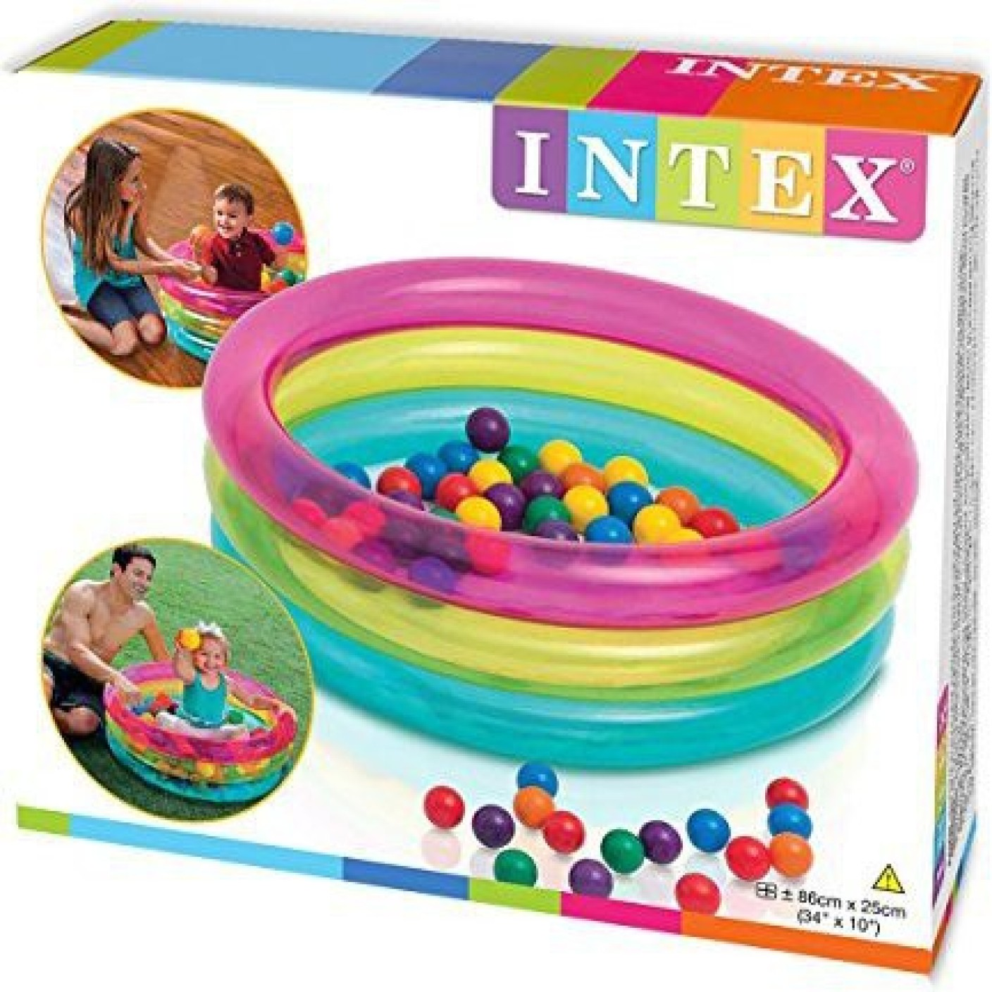 Intex Baby Ball Pit Inflatable Pool Price In India Buy Intex Baby Ball Pit Inflatable Pool