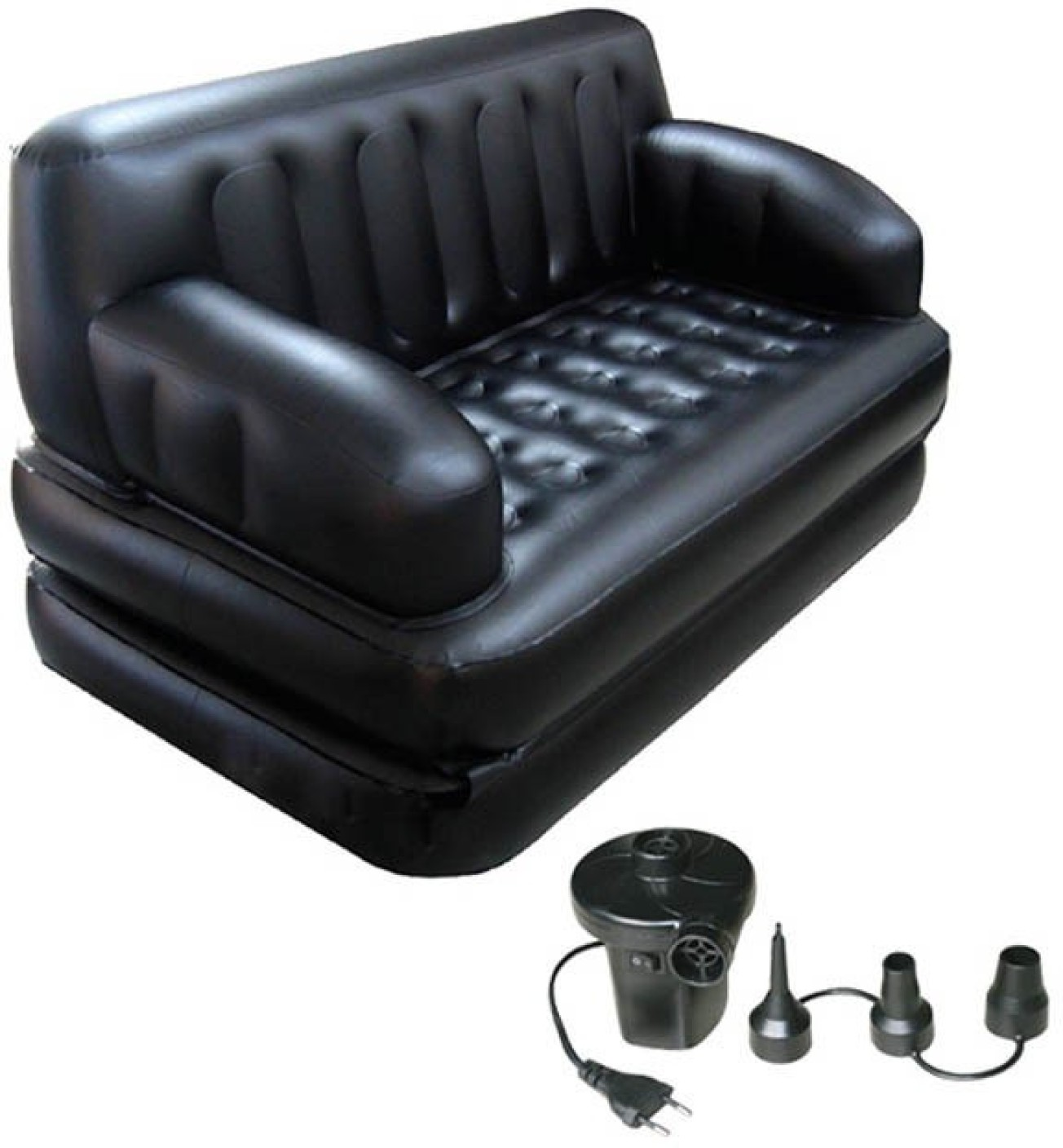 Inflatable Sofa Bed Flipkart: Lovato PVC 2 Seater Inflatable Sofa Price In India