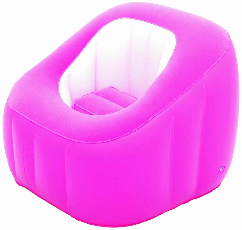 Inflatable Sofa Bed Flipkart: Bestway Karmax Comfi Cube Chair (Pink) PVC 1 Seater