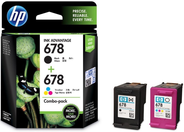 6 Hp Tri Color Ink Cartridge 678 1b019d