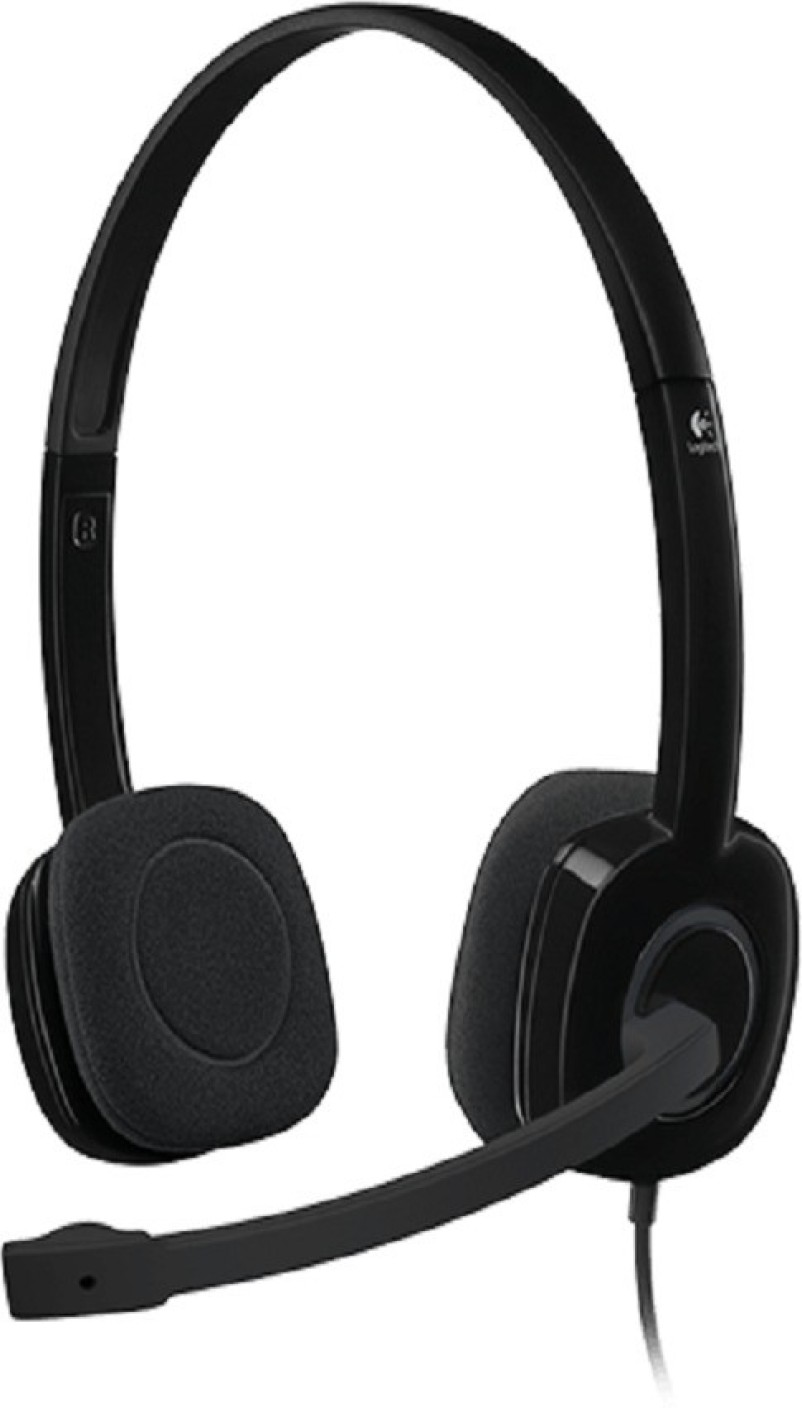logitech h151 wired headset with mic price in india buy logitech h151 wired headset with mic. Black Bedroom Furniture Sets. Home Design Ideas