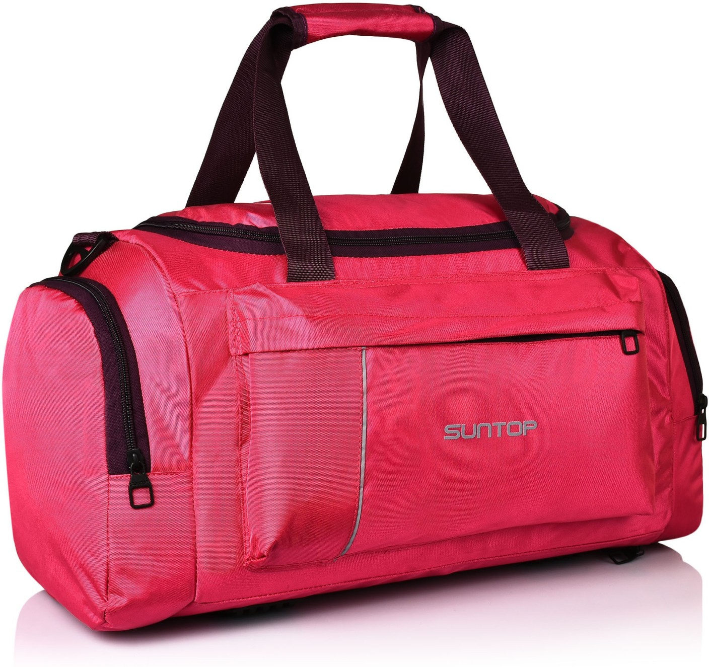 Gym Bag Flipkart: Suntop Alive Travel/Gym/Fitness Travel Duffel Bag Pink