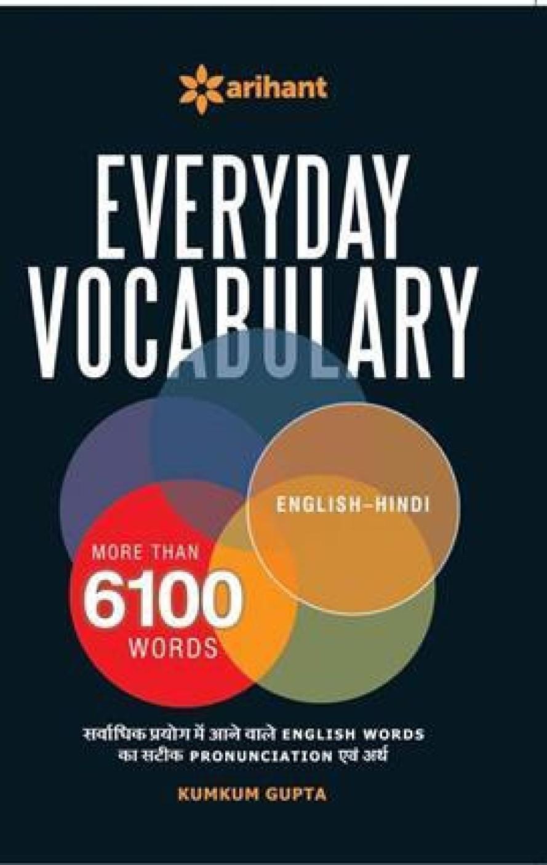 Everyday Vocabulary More Than 6100 Words Buy Everyday Vocabulary