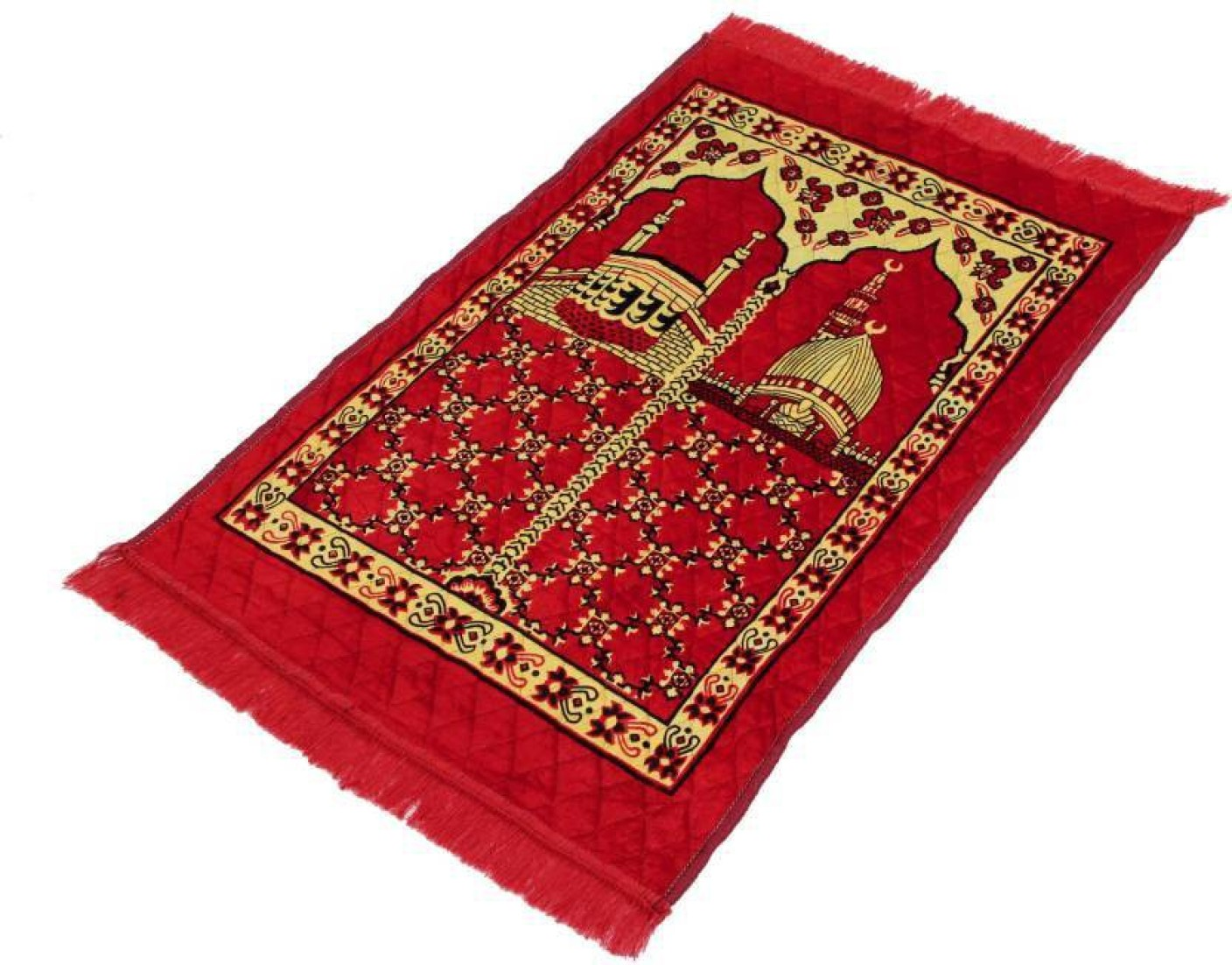 Supreme Home Collective Velvet Prayer Mat Velvet Red